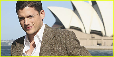 Wentworth Miller Cruises Along