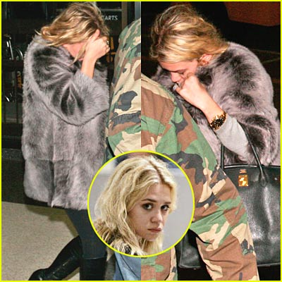 Ashley Olsen Loves Her Fur