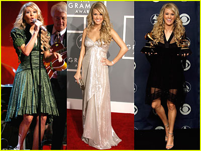 Carrie Underwood @ Grammys 2007