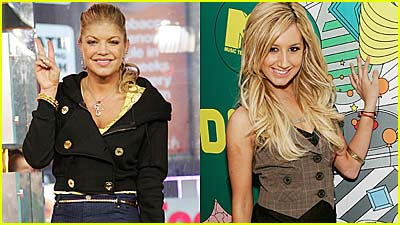 Fergie Fires It Up on TRL