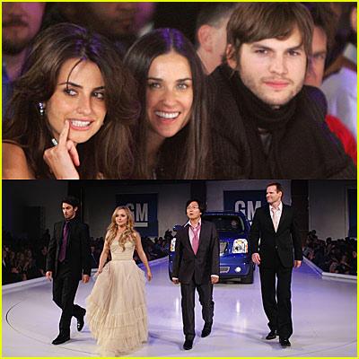"General Motor's Celebrity Fashion Show — The 2007 GM ""Ten"" Runway"