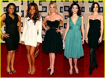 "General Motor's Celebrity Fashion Show — The 2007 GM ""Ten"" Women"