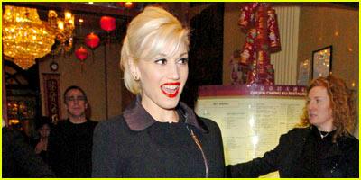 Gwen Stefani Orders Chinese Takeout