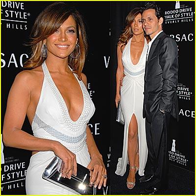 Jennifer Lopez's Walk of Style