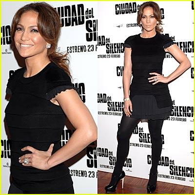 Jennifer Lopez Spices it Up in Spain