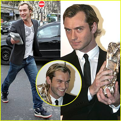 Jude Law Honored in France