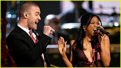 Justin Timberlake @ Grammys 2007