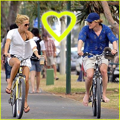 Owen Wilson Loves Barefoot Biking