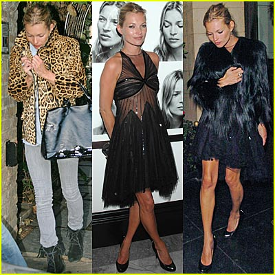 Kate Moss is on the Prowl