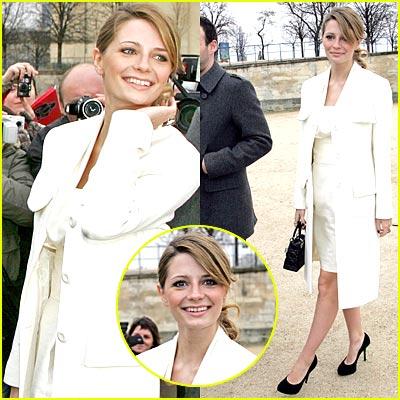 Mischa Barton Dons Dior