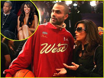 Celebrity Couples @ NBA All-Stars