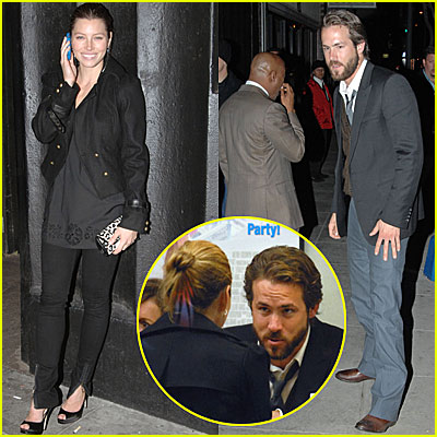 Ryan Reynolds & Jessica Biel: New Couple?