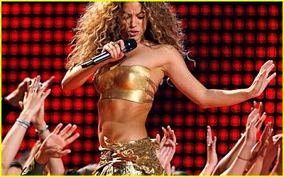 Shakira @ Grammys 2007