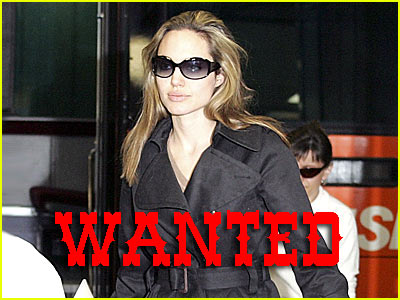 Angelina Jolie is a WANTED WOMAN!