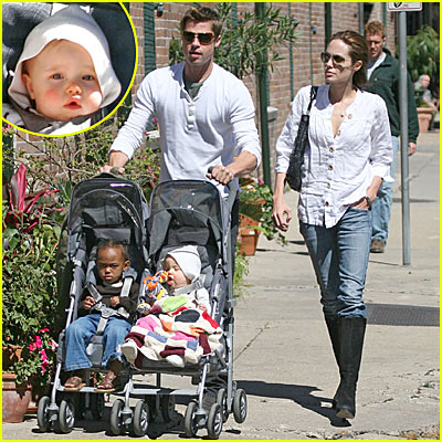 The Pitts' Monday Morning Stroll