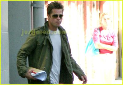 Brad Pitt Lovin' Louisiana