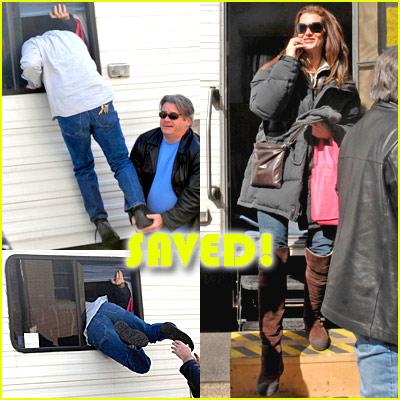 Brooke Shields Locked Up!