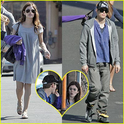Rachel Bilson & Hayden Christensen -- NEW COUPLE ALERT!