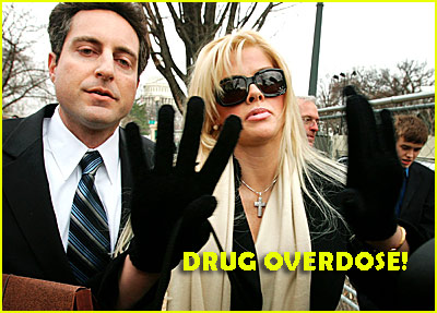 Anna Nicole Died From Drug Overdose