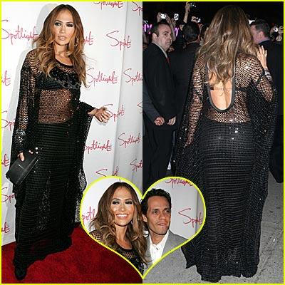 Jennifer Lopez's See Through Dress