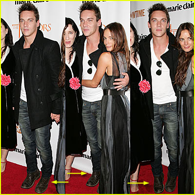 Rhys-Meyers on His Tippy Tippy Toes