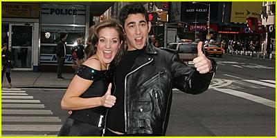 Max Crumm & Laura Osnes: Broadway's New Danny & Sandy