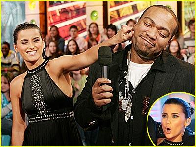 Nelly Furtado & Timbaland Rock TRL