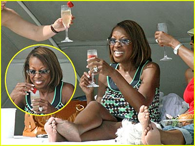 Star Jones' Birthday Bathing Suit