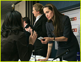 Angelina Jolie @ Global Action for Children