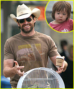 Hugh Jackman's New Pet Bird