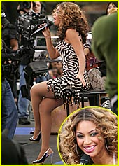 Beyonce Wakes Up 'The Early Show'