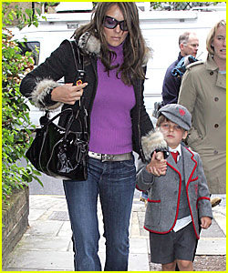 Liz Hurley: Family is Fantastic