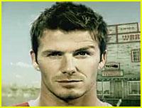 David Beckham's Sexy Eyebrow Raise