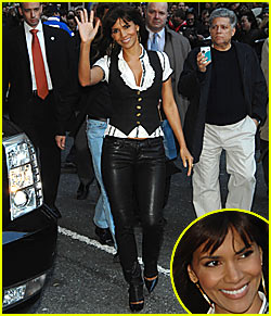 Halle Berry @ David Letterman
