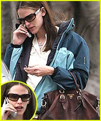 Jennifer Garner Takes Mommy Break