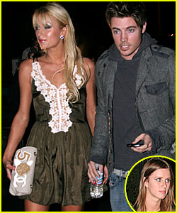 Paris Hilton & Josh Henderson Saddle Up