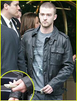 Justin Timberlake is a Big Tipper