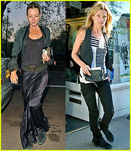 Kate Moss Loves Long Skirts