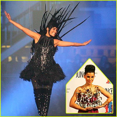 Nelly Furtado Swoops In and Sweeps