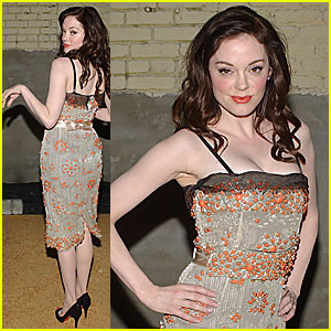 Rose McGowan @ Hot Hollywood Party 2007