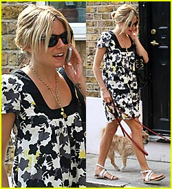 Sienna Miller: Fun and Flouncy