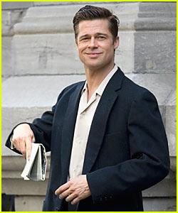 Brad Pitt's Sexy Smirk