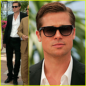Brad Pitt Does Cannes with Ocean's 13