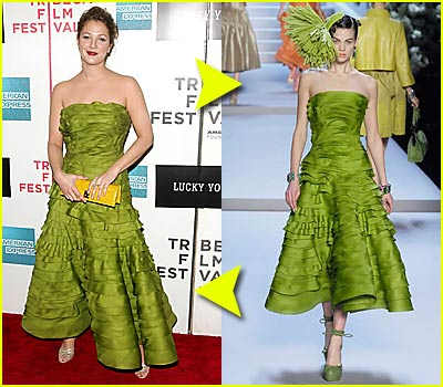 Fashion Faceoff: Christian Dior Dress