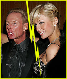 Paris Hilton Splits with Publicist Elliot Mintz
