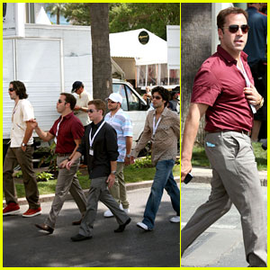 The Entourage At Cannes