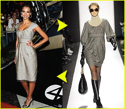 Fashion Faceoff: Badgley Mischka Dress