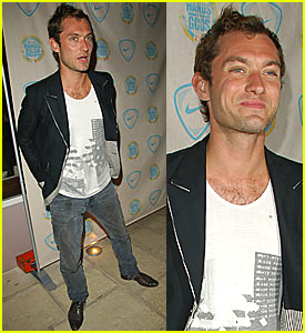 Jude Law @ Cannes Nike Party