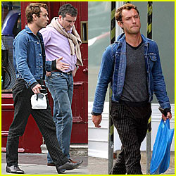 Jude Law is Street Chic