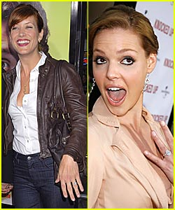 Kate Walsh Gets Knocked Up